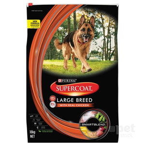 Supercoat Smartblend Adult Large Breed Chicken Dry Dog Food
