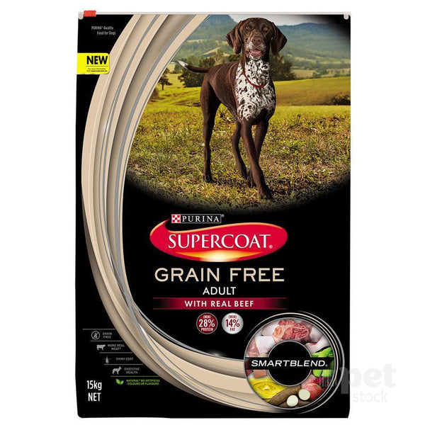 Supercoat Smartblend Adult Grainfree Beef Dry Dog Food