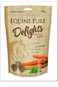 EQUINE PURE DELIGHTS 500G SATCHEL