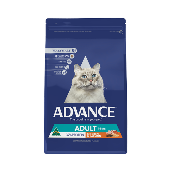 ADVANCE ADULT CAT TOTAL WELL BEING CHICKEN & SALMON