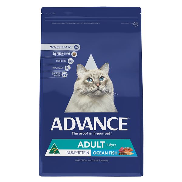 ADVANCE ADULT CAT TOTAL WELL BEING OCEAN FISH