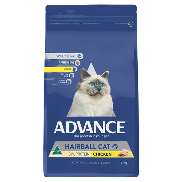 Advance Hairball Cat Chicken