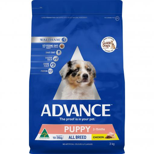 Advance Puppy All Breed Chicken  - Various Sizes