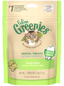GREENIES Feline Dental Treats Catnip