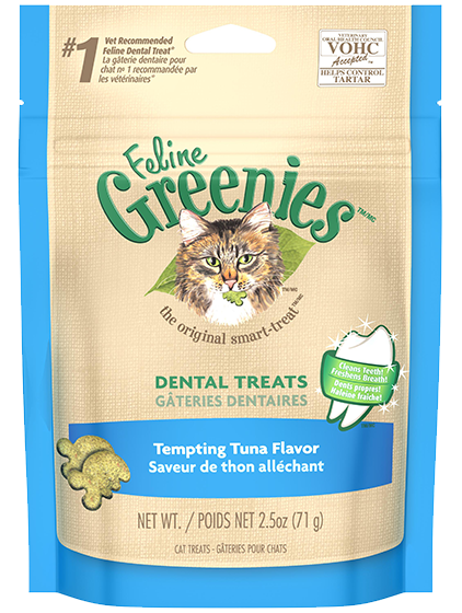GREENIES Feline Dental Treats Tuna