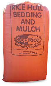 Coprice Bedding - Rice Hulls
