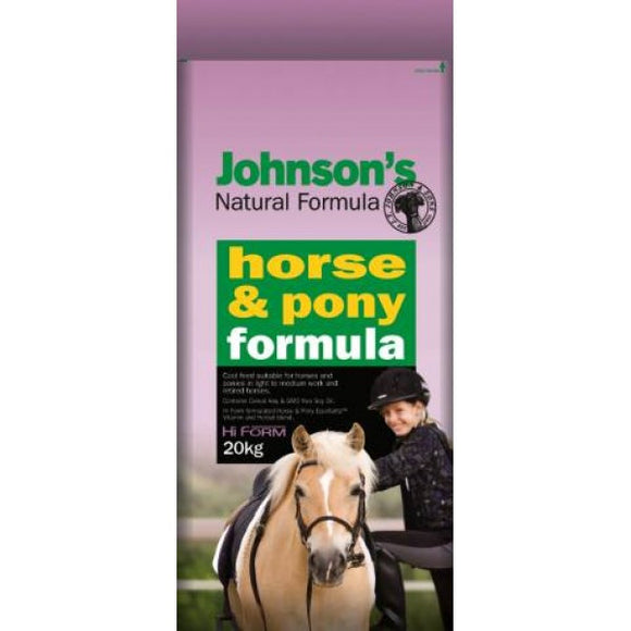 Johnson's Horse and Pony Formula 20kg
