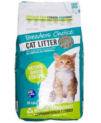 Breeders choice cat litter 30l