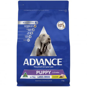 Advance Puppy Large Breed Chicken - Various Sizes