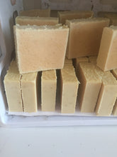 Silk Infused goats milk soap