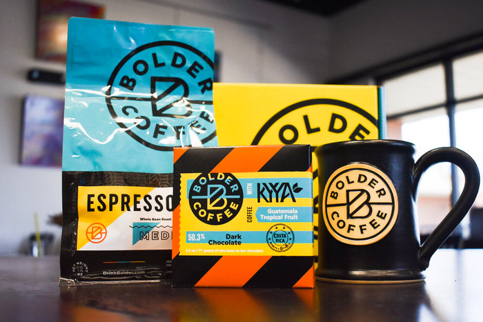 BOLDER COFFEE GIFT SET