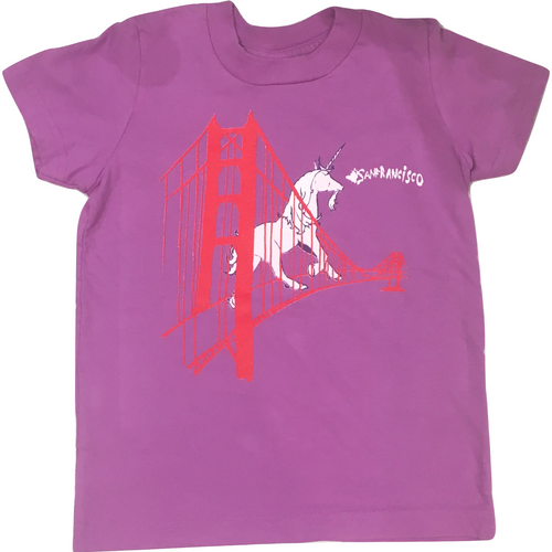 Animal Instinct Unicorn Bridge Tee