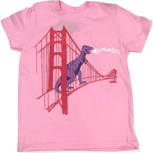 Animal Instinct SF Bridge Dino Tee