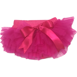 Baby Bloomer Tutu in Hot Pink