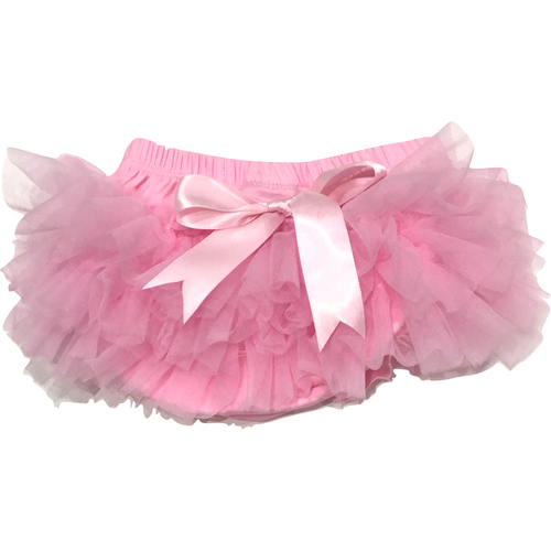 Baby Bloomer Tutu in Light Pink