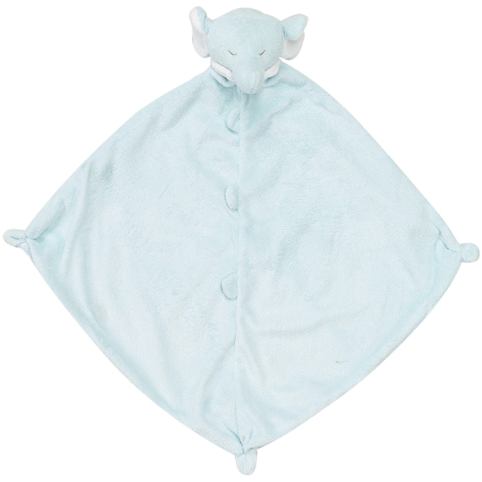 Angel Dear Napping Blanket in Blue Elephant