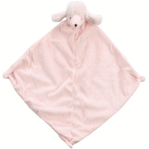 Angel Dear Napping Blanket in Pink Poodle
