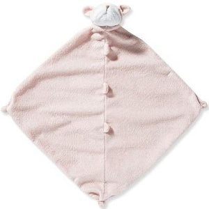 Angel Dear Napping Blanket in Pink Bulldog