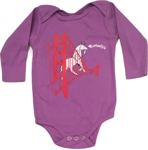 Animal Instinct Purple Unicorn Onesie