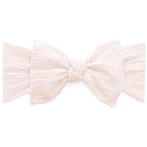 Knot Bow Headband in Ballet Pink