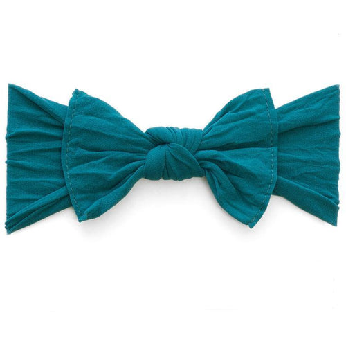 Knot Bow Headband in Emerald