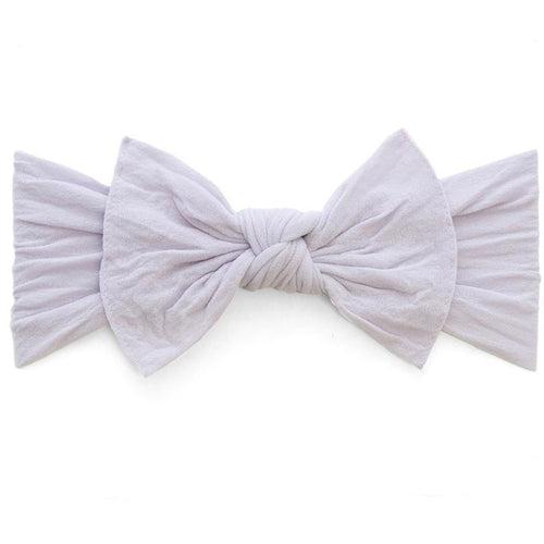 Knot Bow Headband in Light Orchid