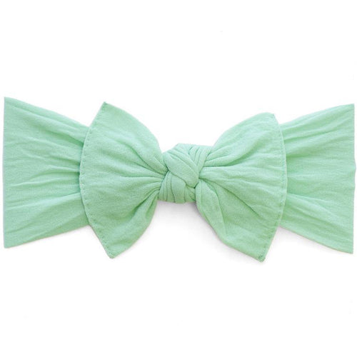 Knot Bow Headband in Mint
