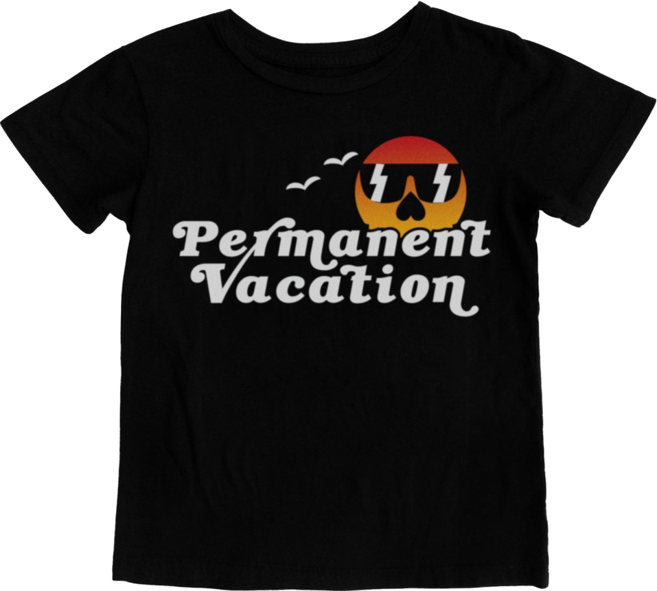 TinyWhales Permanent Vacation Tee