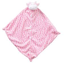 Angel Dear Napping Blanket in Pink Giraffe