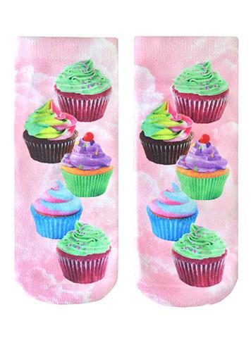 Living Royal Cupcake Dream Ankle Socks