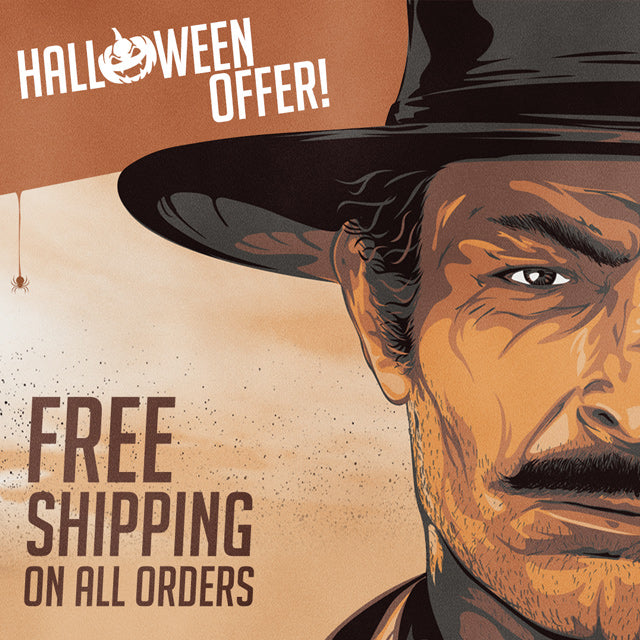 Halloween Offer - Free Shipping on all orders
