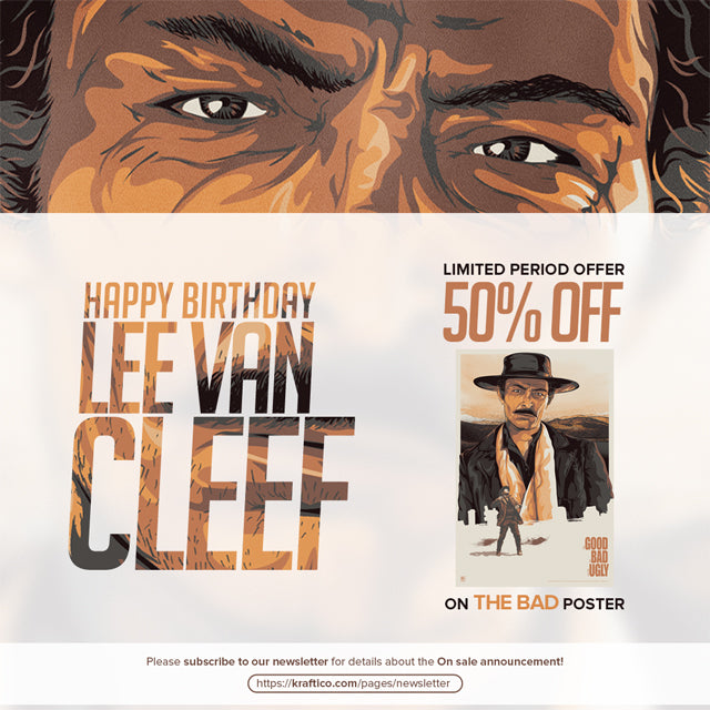 Happy Birthday Lee Van Cleef