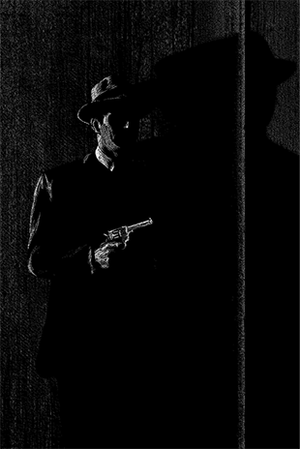 Noir Series: Two Men in the Dark