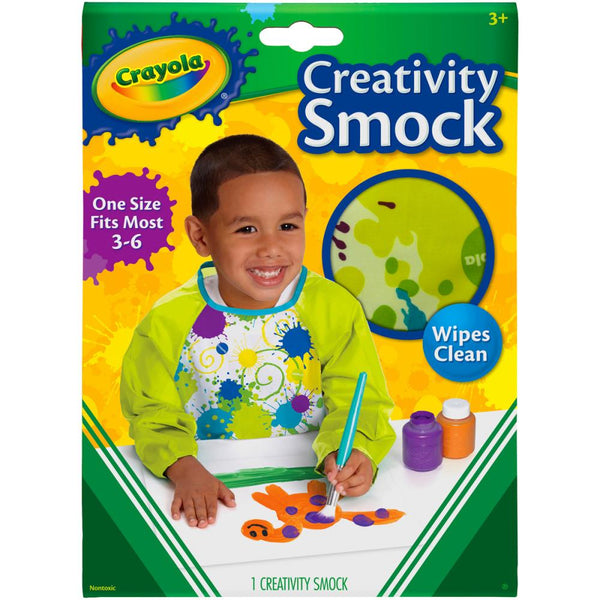 Creativity Smock With Long Sleeves