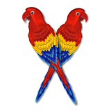 2 Colorful Parrots Craft Projects