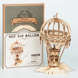 3D Wooden Puzzle Hot Air Balloon