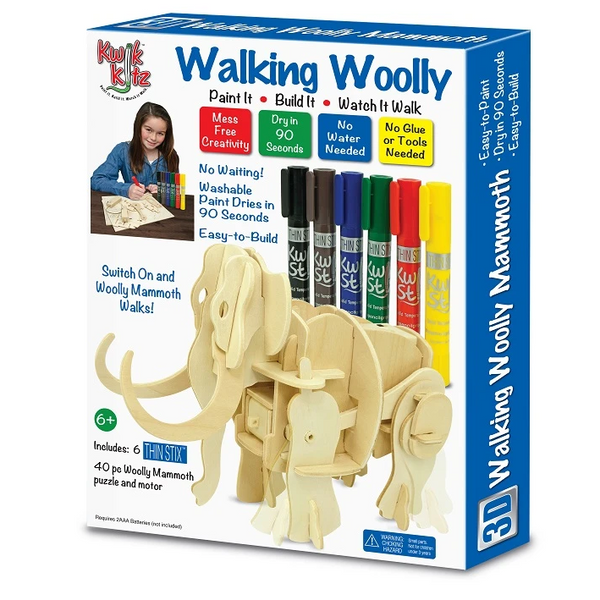 3D Woolly Mammoth Kit