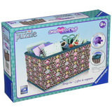 3D Puzzle Desktop Storage Box