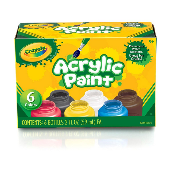 Acrylic Paint-6 Count
