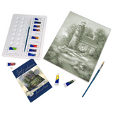 "Acrylic Paint Your Own Masterpiece Kit 11""X14"" Romantic Lighthouse"