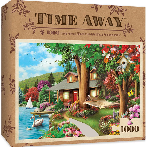 Around the Lake-1000 Piece Puzzle