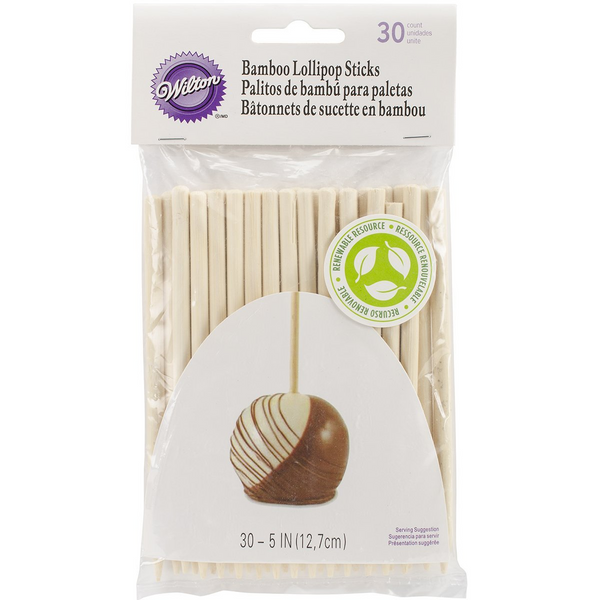 Bamboo Lollipop Sticks