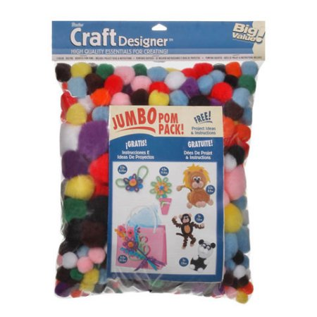 Big Pom Poms Bag-8 Oz