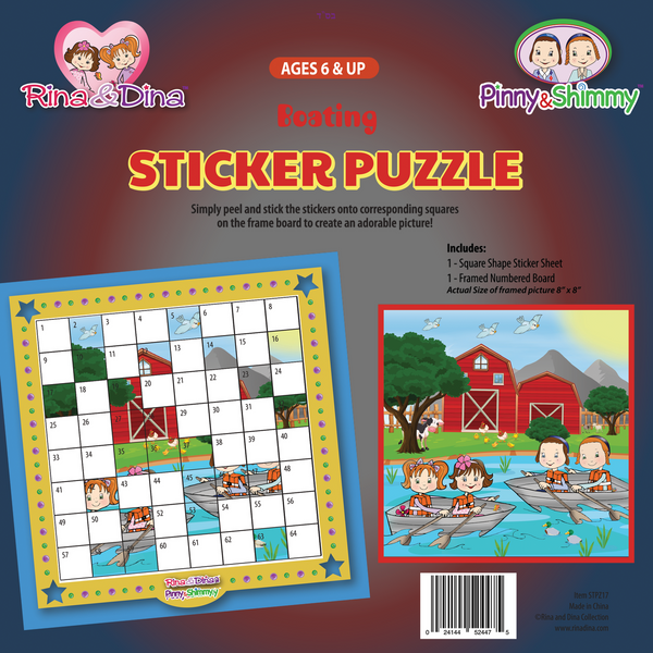 Boating Sticker Puzzle