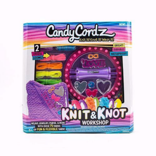 Candi Cordz Knit & Knot Workshop
