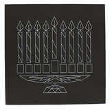 Chanukah String Art