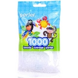 Perler Clear Beads 1000 Pieces