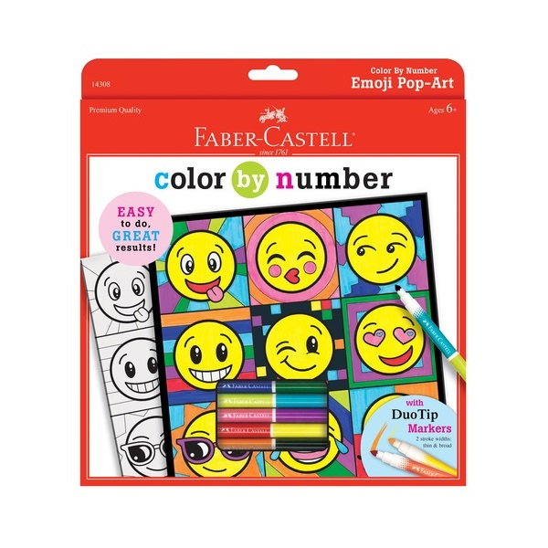 Color By Number Emoji