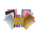 "Colored & Metallic Construction Paper 9"" x 12"", 96 Count"