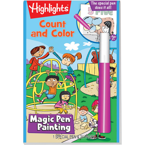 Highlights Magic Pen Painting Book